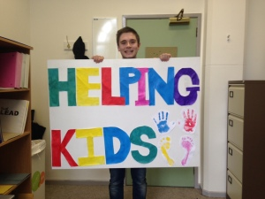 Helping Kids Poster