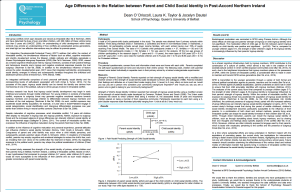 Age differences - BPS 2016 poster